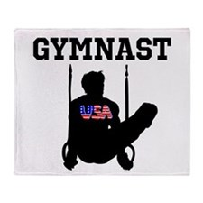 STAR GYMNAST Throw Blanket