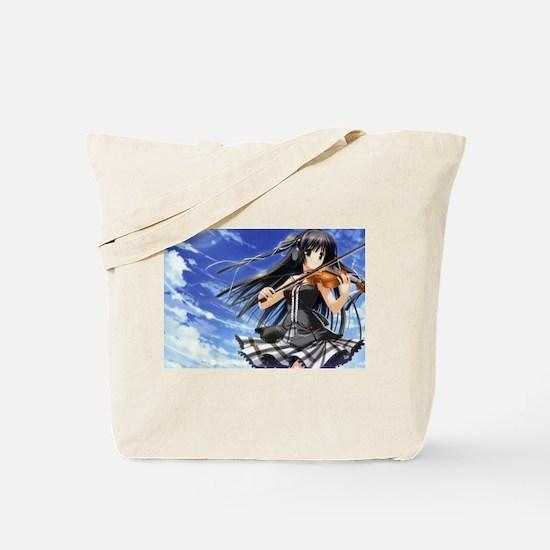 Anime Violin Tote Bag