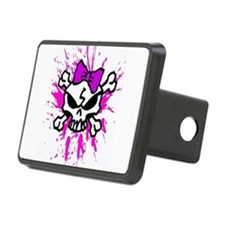 Girly Skull Hitch Cover