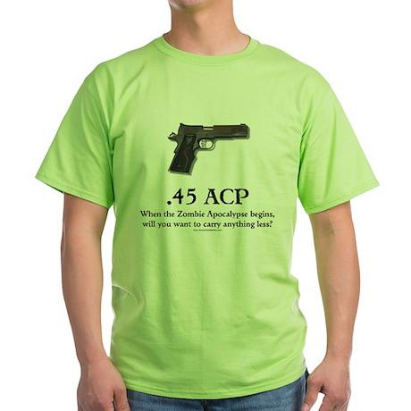 .45 ACP Green T-Shirt