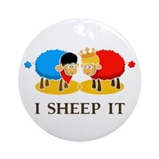 I Sheep It Ornament (Round)
