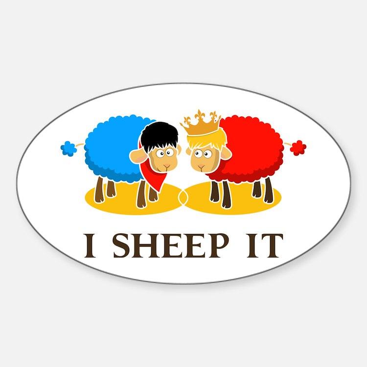 I Sheep It Decal