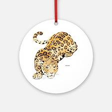 Jaguar Big Cat Ornament (Round)