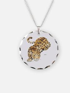 Jaguar Big Cat Necklace