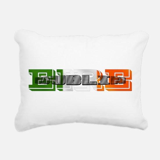 Dublin Eire Rectangular Canvas Pillow