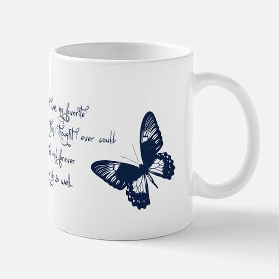 Remember Butterflies Mug