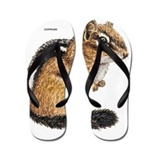 Chipmunk Animal Flip Flops