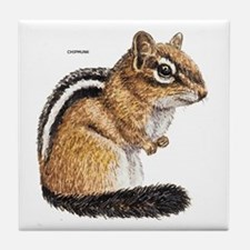 Chipmunk Animal Tile Coaster