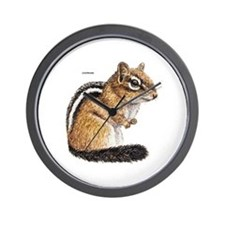 Chipmunk Animal Wall Clock