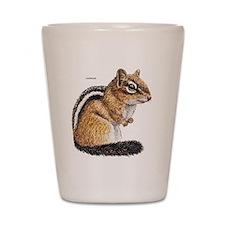 Chipmunk Animal Shot Glass
