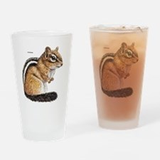 Chipmunk Animal Drinking Glass