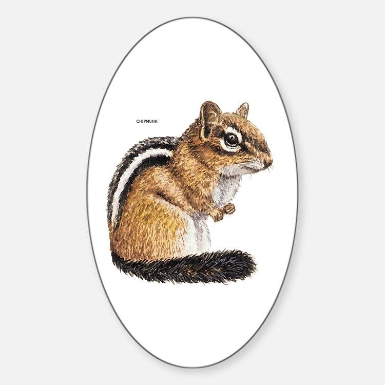 Chipmunk Animal Decal