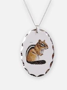 Chipmunk Animal Necklace