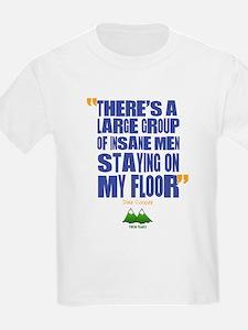 Twin Peaks Insane Men Quote T-Shirt