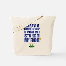 Twin Peaks Insane Men Quote Tote Bag