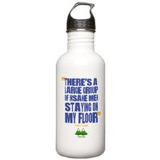 Twin Peaks Insane Men Quote Water Bottle