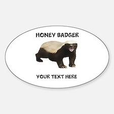Custom Honey Badger Bumper Stickers