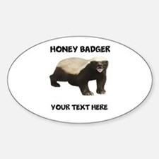 Custom Honey Badger Decal