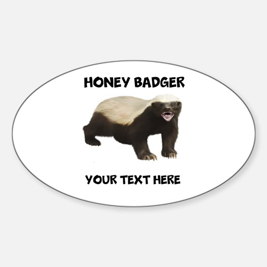 Custom Honey Badger Decal