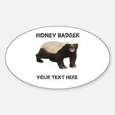 Custom Honey Badger Stickers