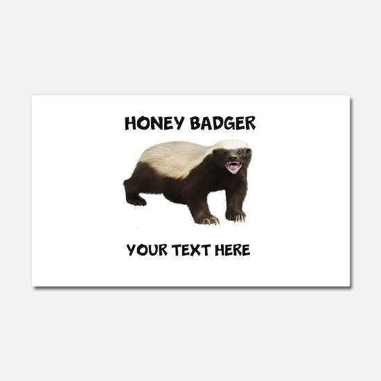 Custom Honey Badger Car Magnet 20 x 12