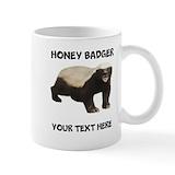Honey badger Small Mugs (11 oz)