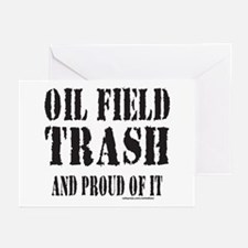 OIL FIELD TRASH Greeting Cards (Pk of 10)