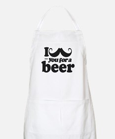 I Mustache You For a Beer Apron