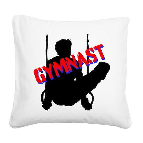 GYMNAST CHAMP Square Canvas Pillow