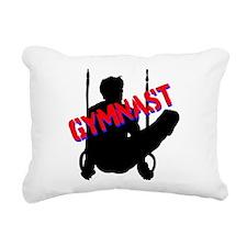 GYMNAST CHAMP Rectangular Canvas Pillow