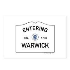 Warwick Postcards (Package of 8)