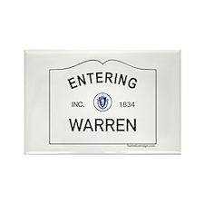 Warren Rectangle Magnet