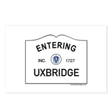Uxbridge Postcards (Package of 8)