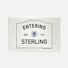 Sterling Rectangle Magnet