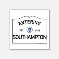 "Southampton Square Sticker 3"" x 3"""
