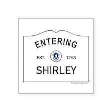 "Shirley Square Sticker 3"" x 3"""