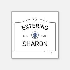 """Sharon Square Sticker 3"""" x 3"""""""