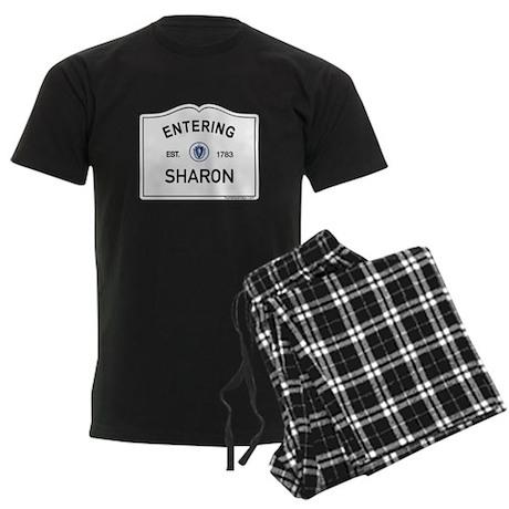 Sharon Men's Dark Pajamas