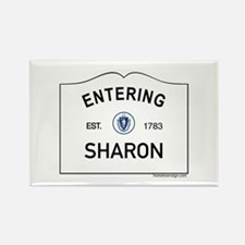 Sharon Rectangle Magnet