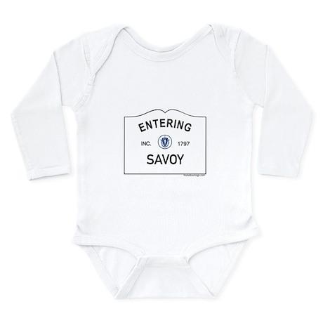 Savoy Long Sleeve Infant Bodysuit