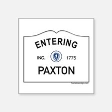 "Paxton Square Sticker 3"" x 3"""