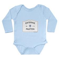 Paxton Long Sleeve Infant Bodysuit