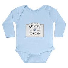 Oxford Long Sleeve Infant Bodysuit