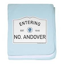 North Andover baby blanket