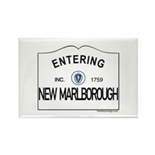 New Marlborough Rectangle Magnet
