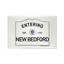 New Bedford Rectangle Magnet
