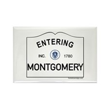 Montgomery Rectangle Magnet