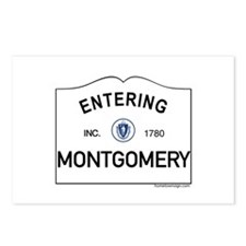 Montgomery Postcards (Package of 8)