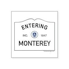 "Monterey Square Sticker 3"" x 3"""
