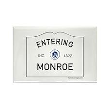 Monroe Rectangle Magnet